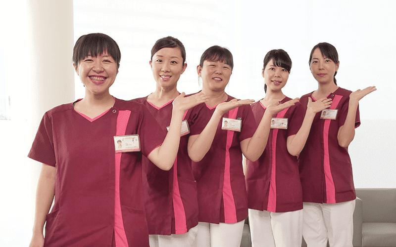 温かい雰囲気で、笑顔が溢れる医院