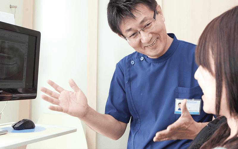 井口歯科クリニックの『無痛治療』