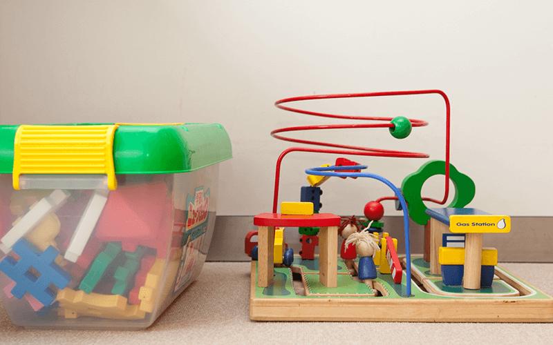 お子さまにご利用いただける玩具をご用意しております。