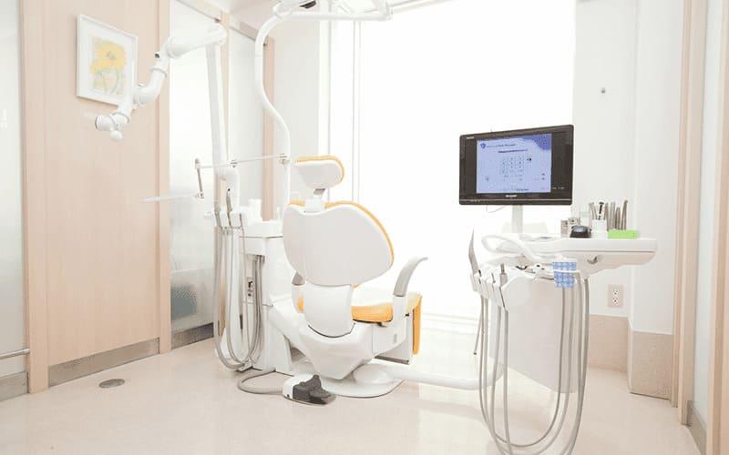「全室個室の診療室」でプライバシーも安心です